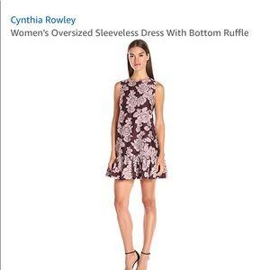 Cynthia Rowley cocktail babydoll style dress